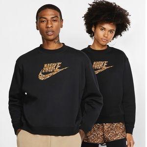Nike sportswear animal print crewneck